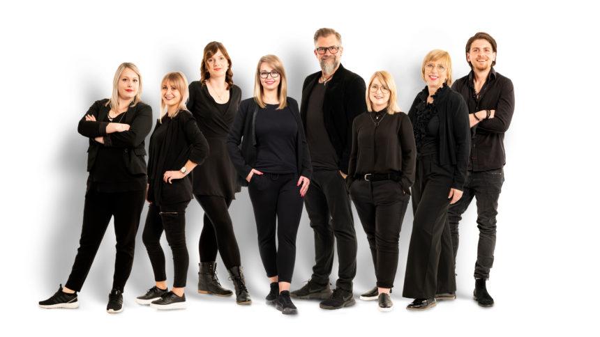 Teambilder Firma